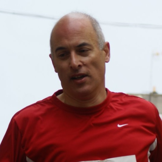 Francesc Farre Podio en eternal running 2011